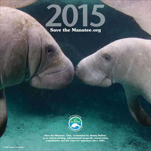 2015 Manatee Wall Calendar