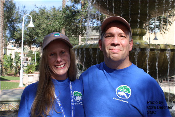Melissa and Mike Fishman, Save the Manatee Club Volunteers