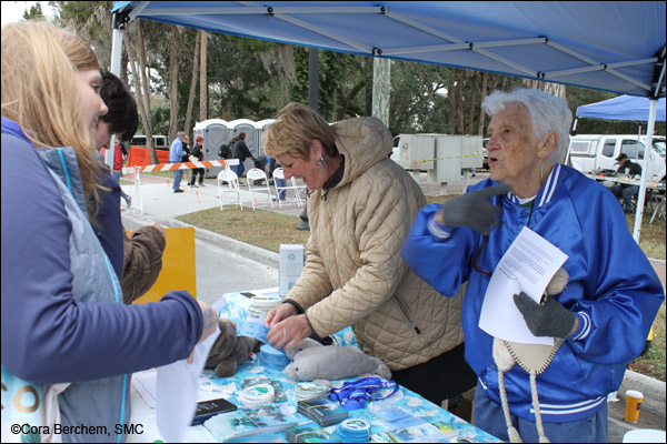 Manatee Education Volunteers at the Crystal River Manatee Festival 2018