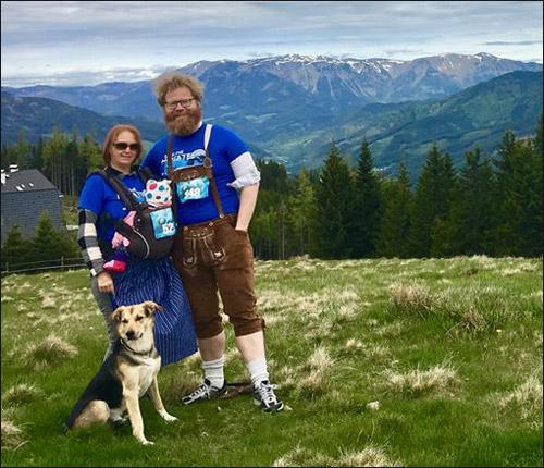 Ines and Robert in Austria