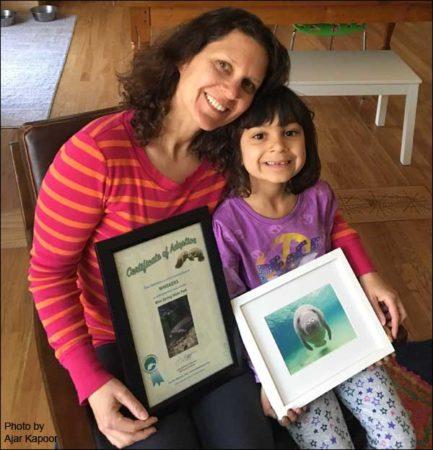 Gina Marie Febbraro and daughter Priya