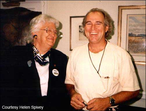 Helen Spivey and Jimmy Buffett