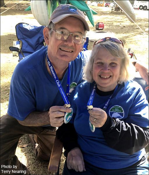 Doug and Debra Brown, Save the Manatee Club Volunteers