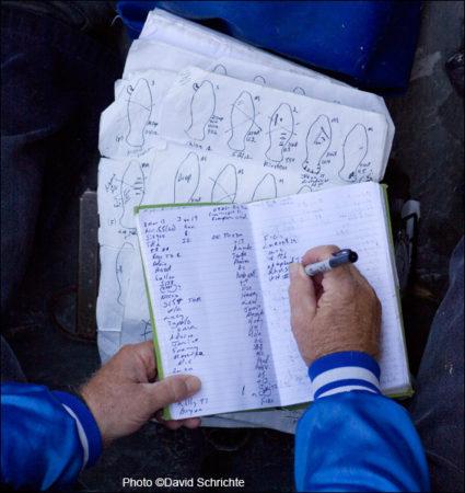 Wayne Hartley's Manatee Research Notes