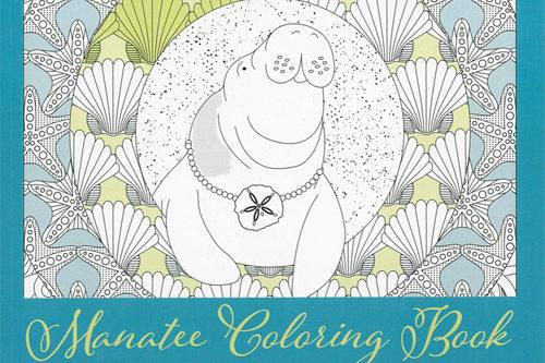Manatee Coloring Book