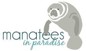 Manatees In Paradise Logo