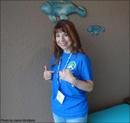 Save the Manatee Club Volunteer Tracy McAlpine