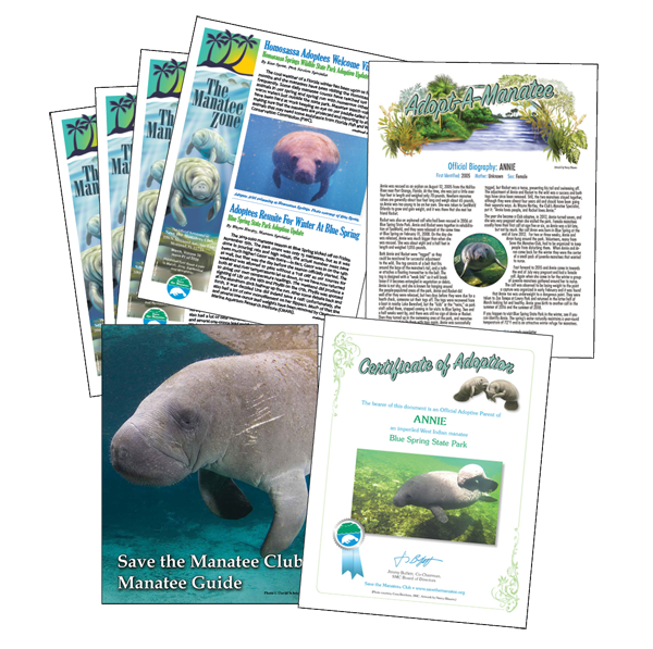 Save the Manatee Club membership materials