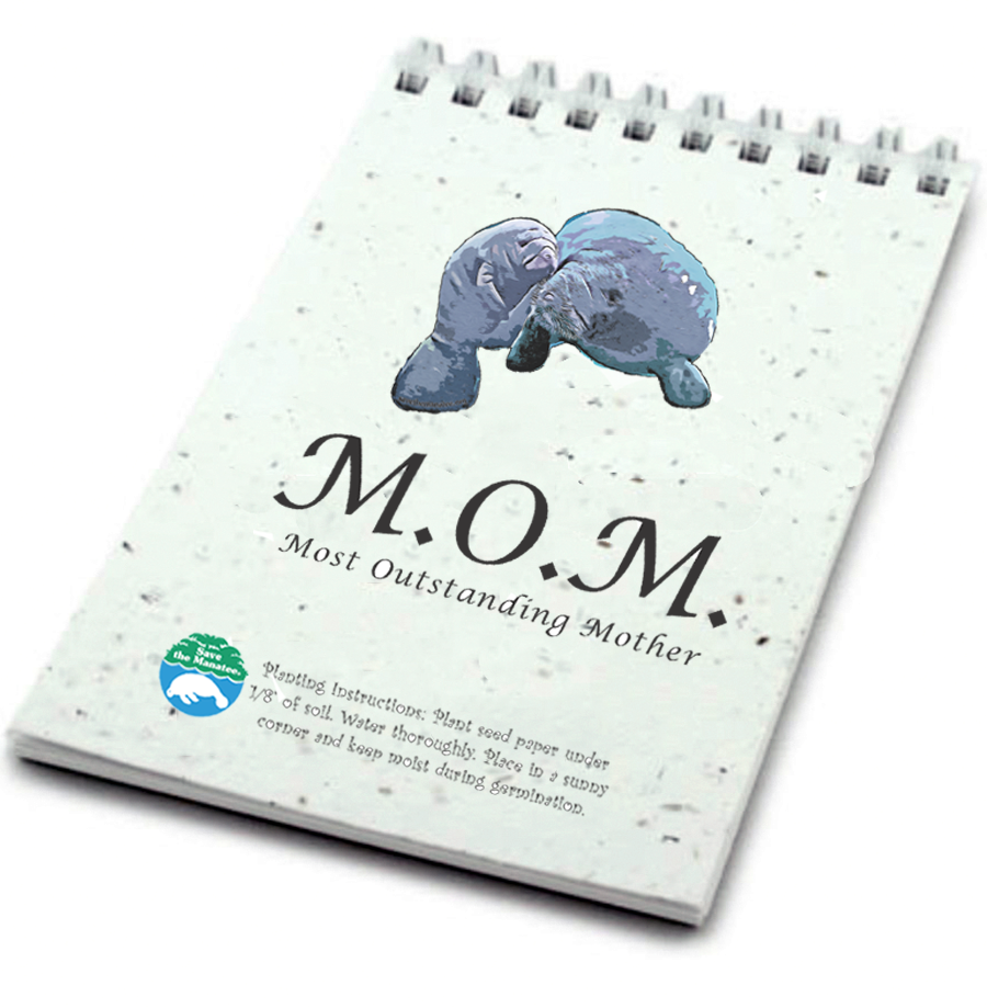Most Outstanding Mother Seed Notebook