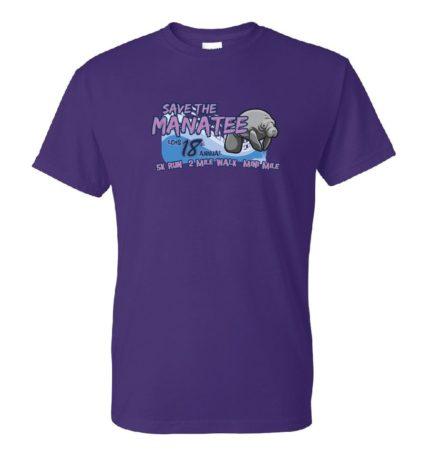Save the Manatee 5K t-shirt