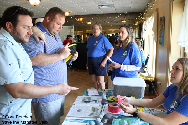 SMC volunteers assist at the Save the Manatee Club Golf Tournament
